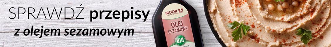 Przepisy z olejem sezamowym