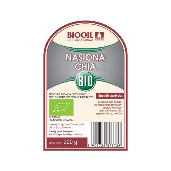 Nasiona chia BIO 200 g
