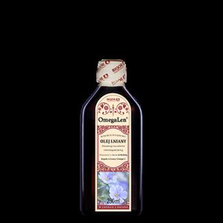Olej lniany konwencjonalny OmegaLen 250 ml