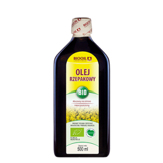 Olej rzepakowy BIO
