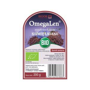 Siemię lniane wysokolinolenowe OmegaLen® BIO