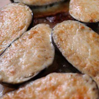 Pieczone bakłażany z parmezanem