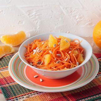 Surówka z marchewki z pomarańczą