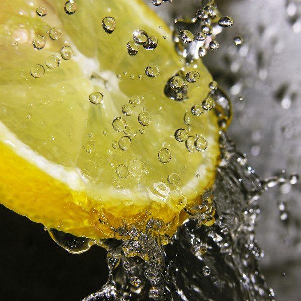 Olej lniany cytrynowy