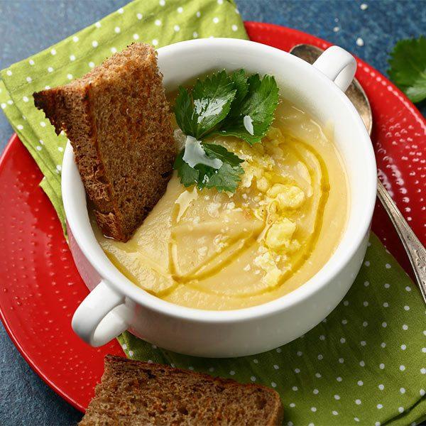 Zupa krem cukiniowo-kukurydziana