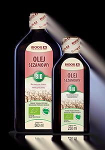 Olej sezamowy BIO