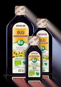 Olej słonecznikowy BIO