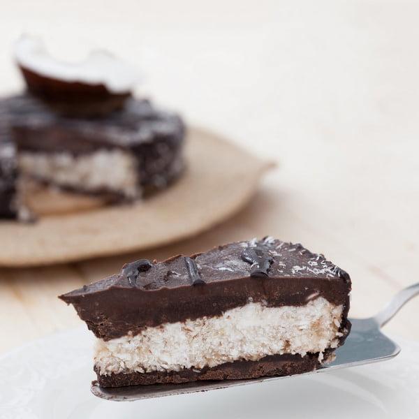 Deser czekoladowo-kokosowy bez pieczenia
