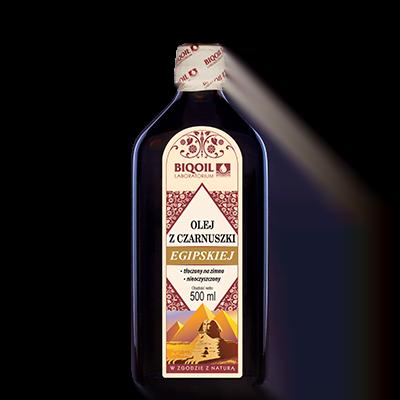 Olej z czarnuszki egipskiej 500 ml