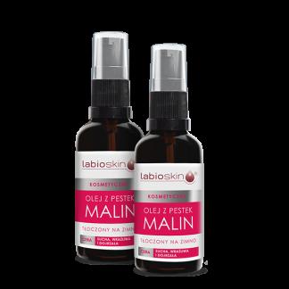 Zestaw olejów malinowych
