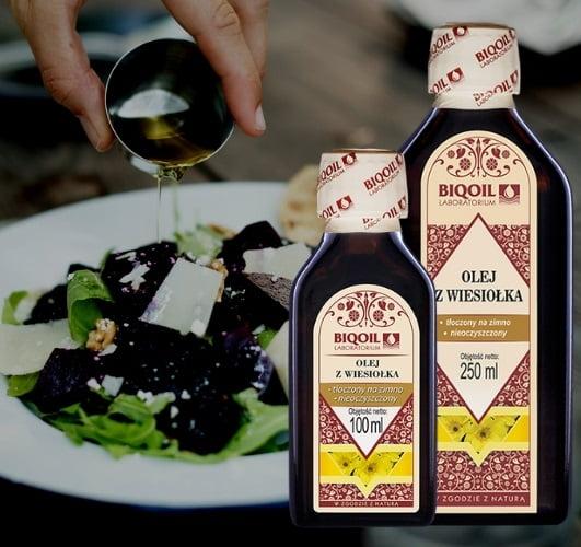 Spożywczy olej z wiesiołka