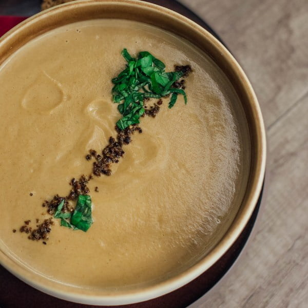 Zupa krem z ziemniaka i topinamburu