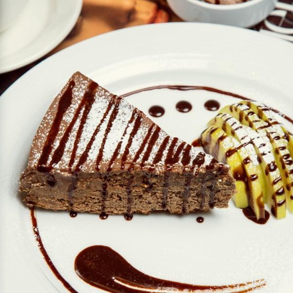 Ciasto czekoladowo-gruszkowe