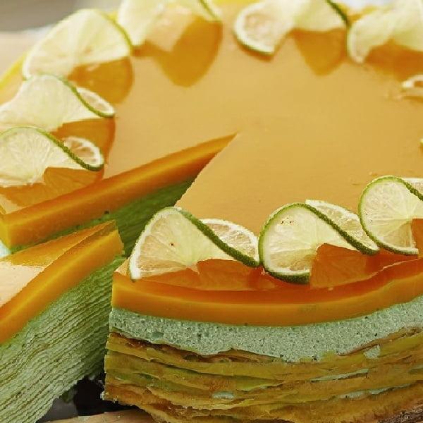 Orzeźwiający tort