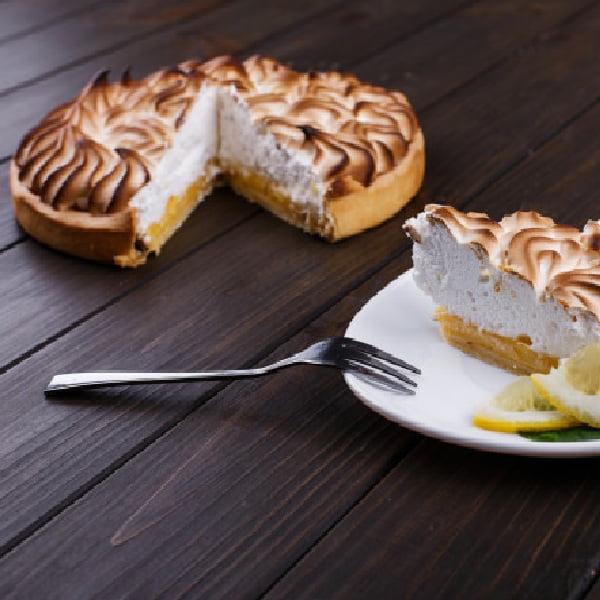 Tarta z bezą cytrynową
