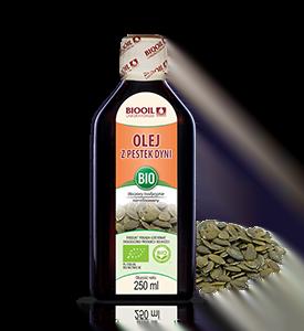 Ekologiczny olej dyniowy
