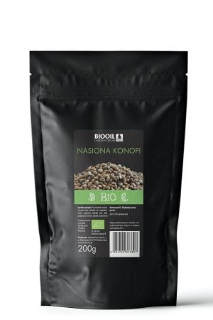 nasiona konopne BIO-200g