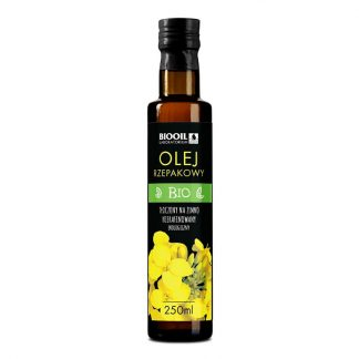 Olej rzepakowy BIO 250 ml
