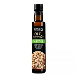 Olej sezamowy BIO 250 ml seria BLACK