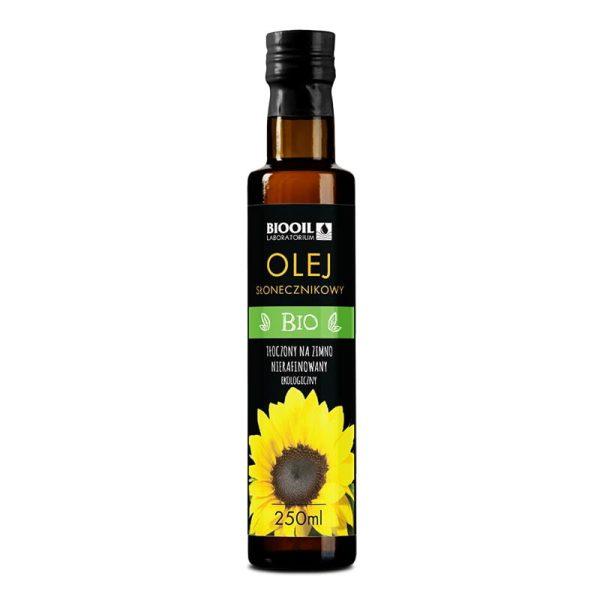 Olej słonecznikowy BIO 250 ml seria BLACK